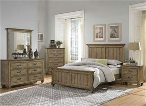 Driftwood King Bedroom Set by Sylvania Bedroom 2298 In Driftwood By Homelegance W Options