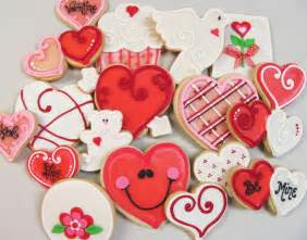 Valentine s day cookies time for the holidays
