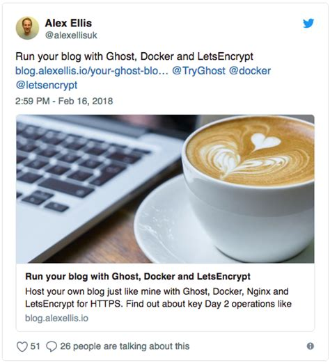 docker ghost tutorial run your blog with ghost docker and letsencrypt dzone