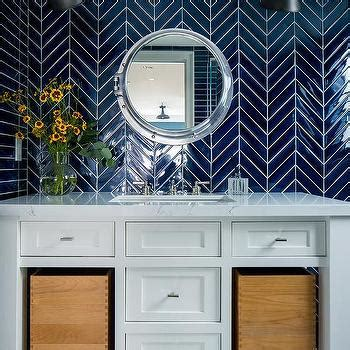 cobalt blue kitchen backsplash tiles design ideas
