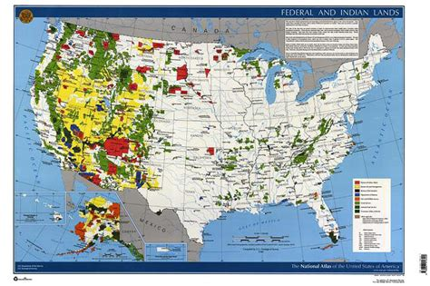 map of federally owned land in usa land ownership map world map 07