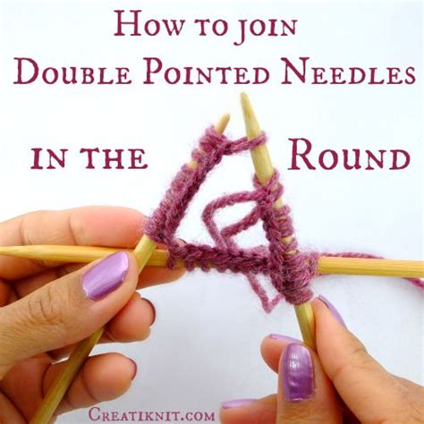 how to knit with circular needles without joining creatiknit how to join pointed needles in the