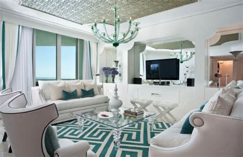 aqua and white living room decorating with turquoise colors of nature aqua exoticness