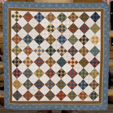 Patch Quilt by Tristan S Nine Patch Baby Quilt