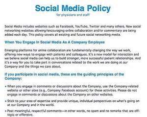 social media guidelines template hlwiki canada social media policy social media and