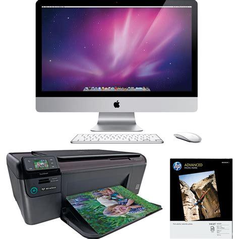 apple 215 imac desktop computer apple 21 5 quot imac desktop computer with printer kit b h