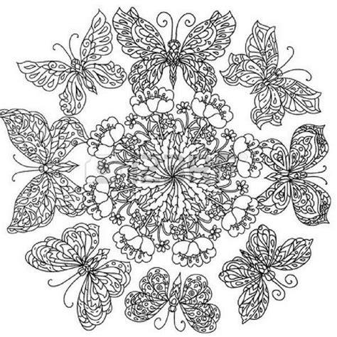 imagenes de mandalas mariposas mandalas de mariposas para imprimir y pintar tatuajes y