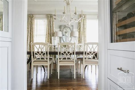 ef chapman table ls dark dining table with white dining chairs french