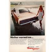 "Vintage Charger Ads ""Mother Warned Me"" ""He Lets Me Clean"