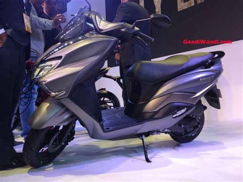suzuki burgman street  india launch price specs mileage features