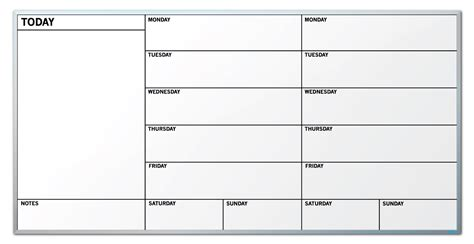 Calendar Board For Weekly Calendar Board Weekly Calendar Template