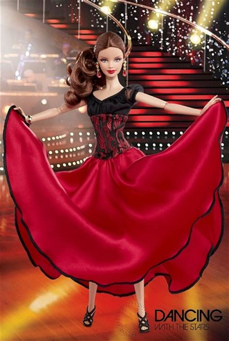 dwts gift ideas  dancing   stars barbie doll pure dancing   stars