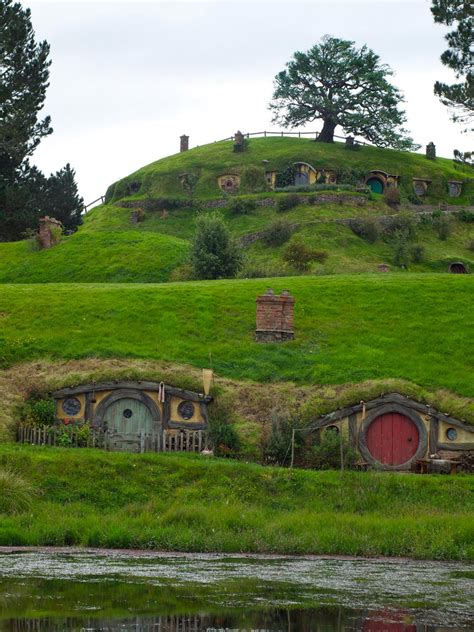 cute lord of the rings hobbit houses in new zealand hobbiton tiny house swoon