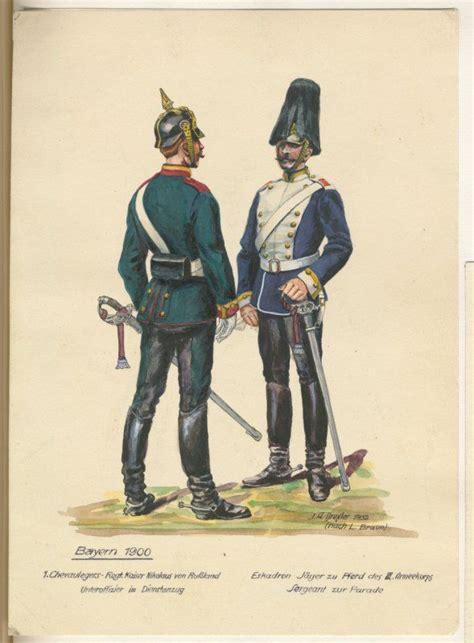 Teropong 40 X 70 Army german bavaria 1st chevau legers regt kaiser nikolaus i russland unteroffizer service