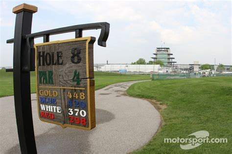 golf course at indianapolis motor speedway a tour of the brickyard crossing golf course inside