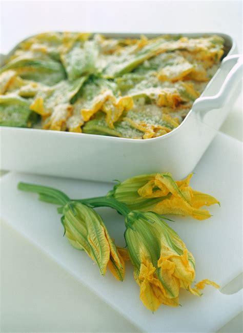 lasagne con fiori di zucca ricetta lasagne con zucchine e fiori sale pepe