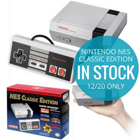 nintendo nes classic edition in stock on 12 20 at best buy