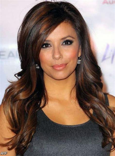 highlights underneath hair dark brown hair with golden highlights underneath 2015