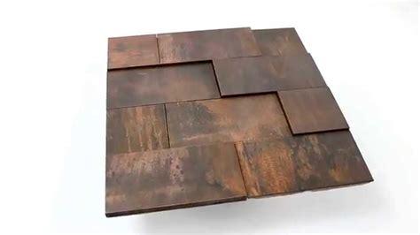 fliese 3d kupfer metall design mosaik fliesen 3d effekt