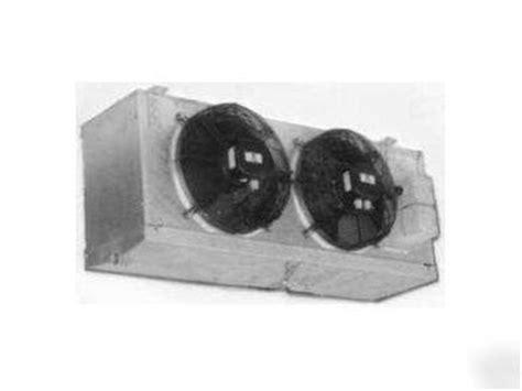 walk in cooler fan walk in cooler refrigeration equip 1hp w 2 fan evap