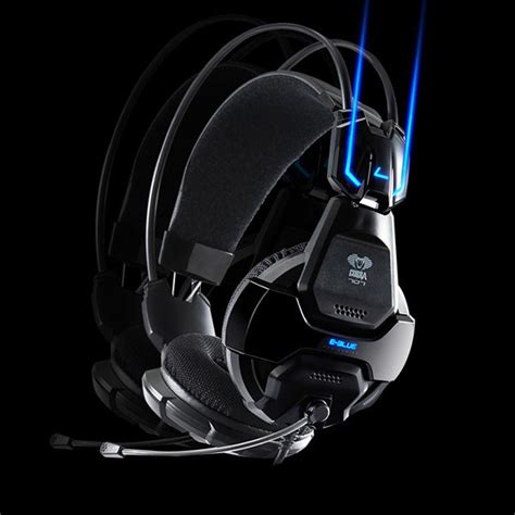 Headset Cobra E Blue e 3lue e blue cobra hs707 blue light gaming headsets microphone alex nld