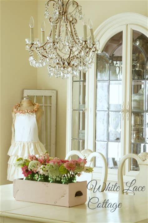 Lace Cottage by Chandelier White Lace Cottage