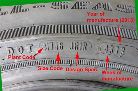 dot date code connaitre ses pneus le saviez vous forum autobip