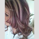 Dark Brown And Blonde Chunky Highlights | 480 x 640 jpeg 50kB