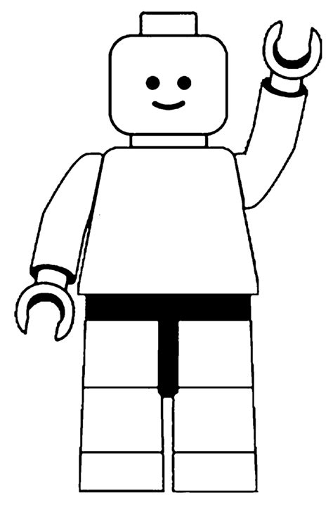 lego guy coloring pages lego man black and white clipart