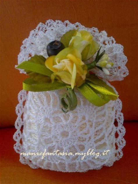 schemi fiori uncinetto per bomboniere sacchettino uncinetto bomboniere per tutte le occasioni