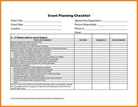 Event Planning Excel Template by 9 Free Event Planning Checklist Template Excel Joblettered