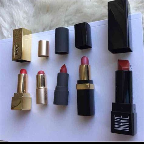 33 chanel other bundle of mini lipsticks by chanel ysl bite etc from eugenia s closet