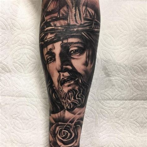blue jesus tattoo meaning 55 best jesus christ tattoo designs meanings find