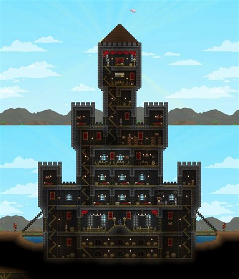 terraria room ideas 140 best images about terraria and starbound on park the roof and waterfalls