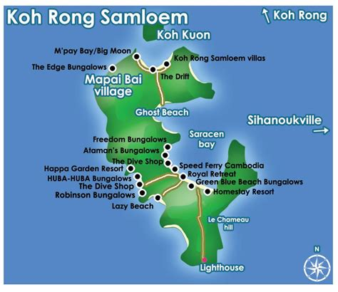 boat tour koh rong samloem ferry schedule between sihanoukville and the islands