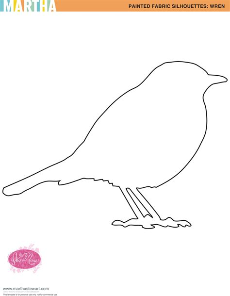 birds templates printable free bird template for kid crafts