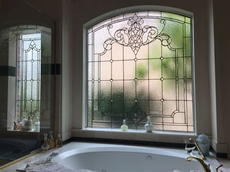 custom bathroom windows artglassbywells serving houston since 1962 bath windows