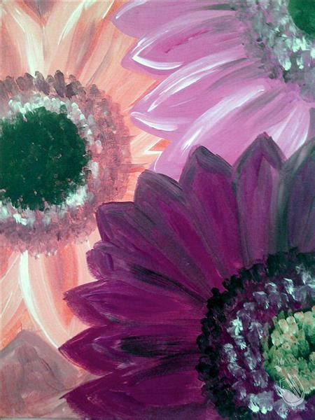 paint with a twist new hartford ny gerbera daisies friday january 27 2017 painting with