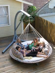 Porch Hammock With Stand Diy Hammock Stand Can Save Your Budget