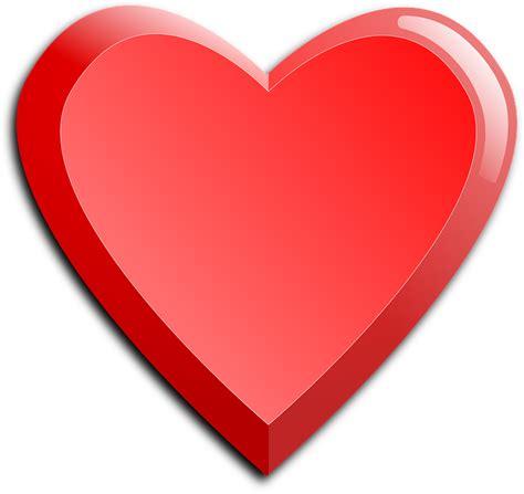 imagenes de corazones grandes y rojos vector gratis coraz 243 n rojo el amor imagen gratis en