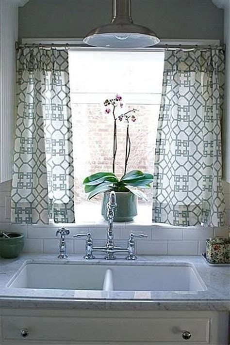 kitchen sink curtain ideas curtain marble countertops and undermount kitchen sink
