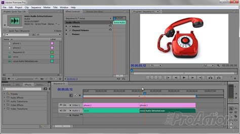 adobe premiere pro quick tips a quick telephone audio effect in adobe premiere pro cs6