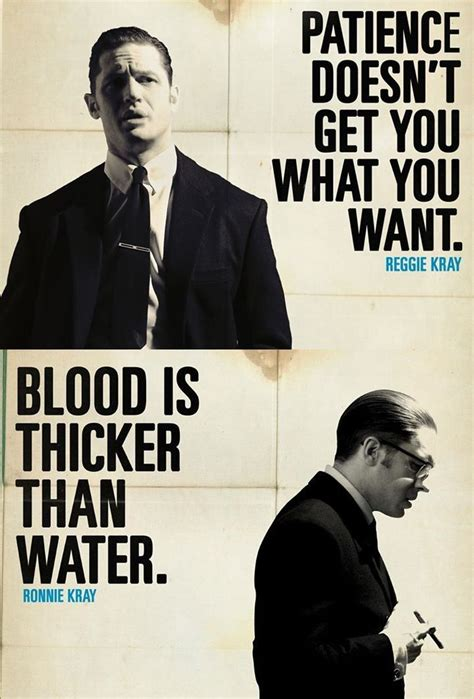 film gangster quotes legend quot patience doesn t get you what you want quot reggie