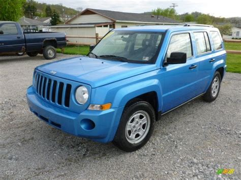 patriot jeep blue 2009 surf blue pearl jeep patriot sport 4x4 64034608