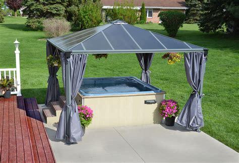 gartenpavillon sale la maison du jardin jardin tonnelle en aluminium