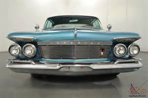 1961 Chrysler Imperial 1961 Chrysler Imperial Crown 6 8l