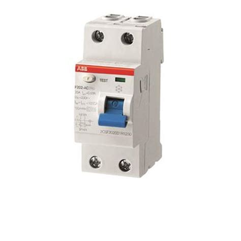 residual current devices modular din rail products abb