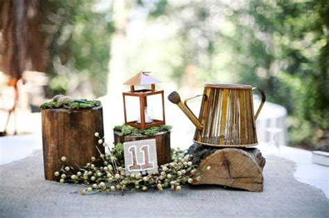 the best non floral wedding centerpieces rustic wedding chic