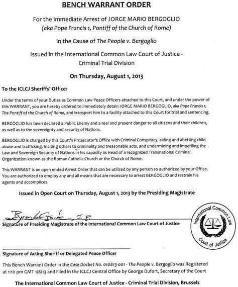 Senten 231 A Do Tribunal Internacional Para Crimes Da Igreja E