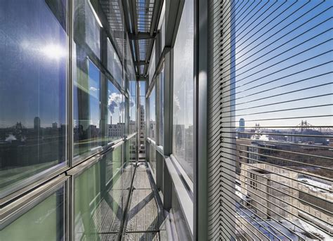 Translucent Concrete gallery of weill cornell medical college belfer research